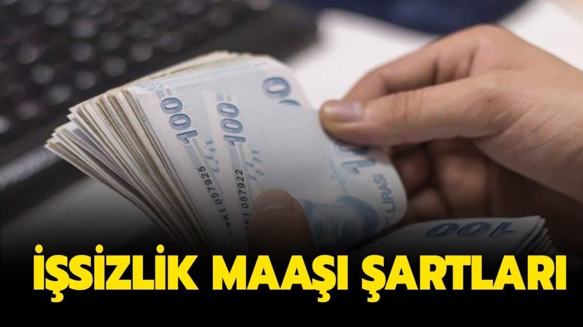 """İŞKUR işsizlik maaşı şartları neler"""""""