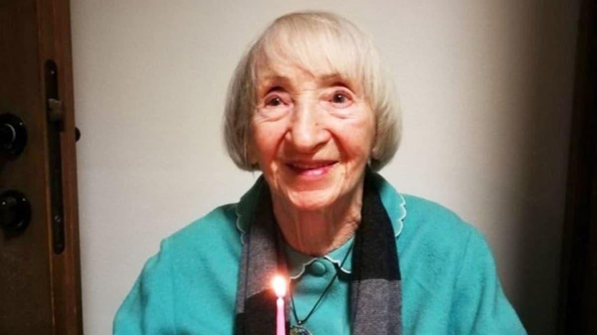 Koronavirüsü yenen 102 yaşındaki Lina Nine umudun sembolü oldu