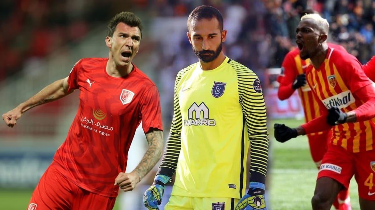 Beşiktaş'ın 3 hedefi: Mario Mandzukic, Bernard Mensah ve Volkan Babacan