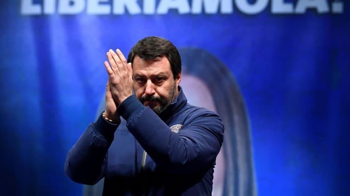 Salvini'den sert AB açıklaması!