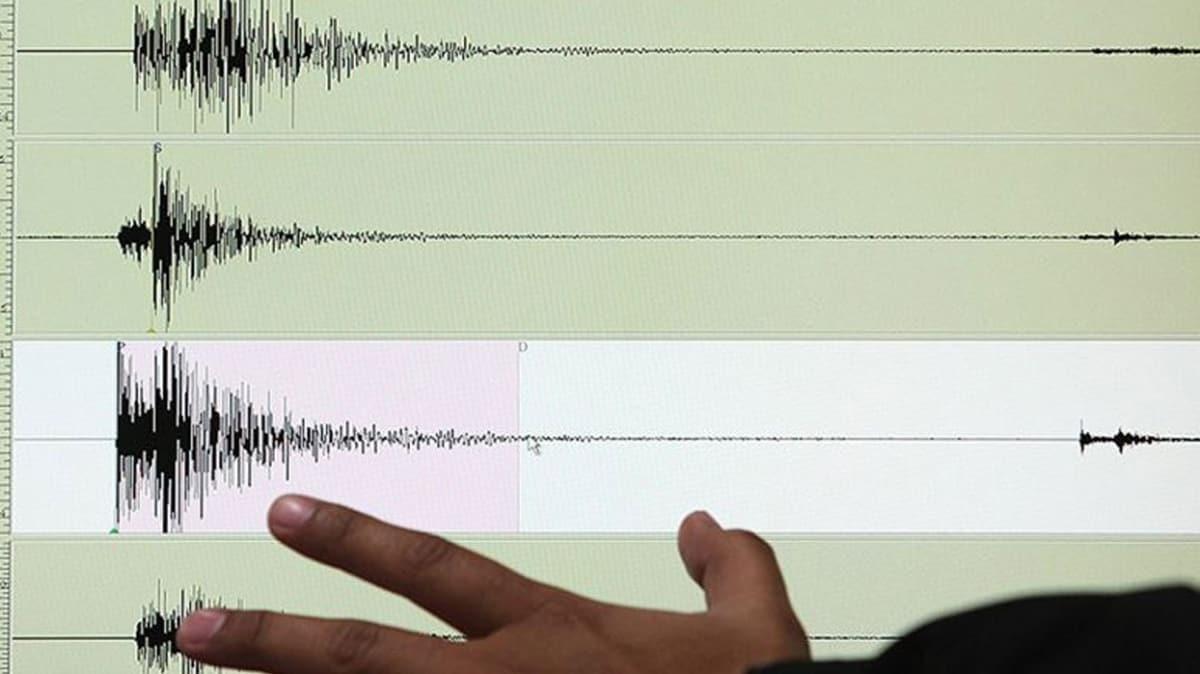 Manisa'da 4,1 büyüklüğünde deprem