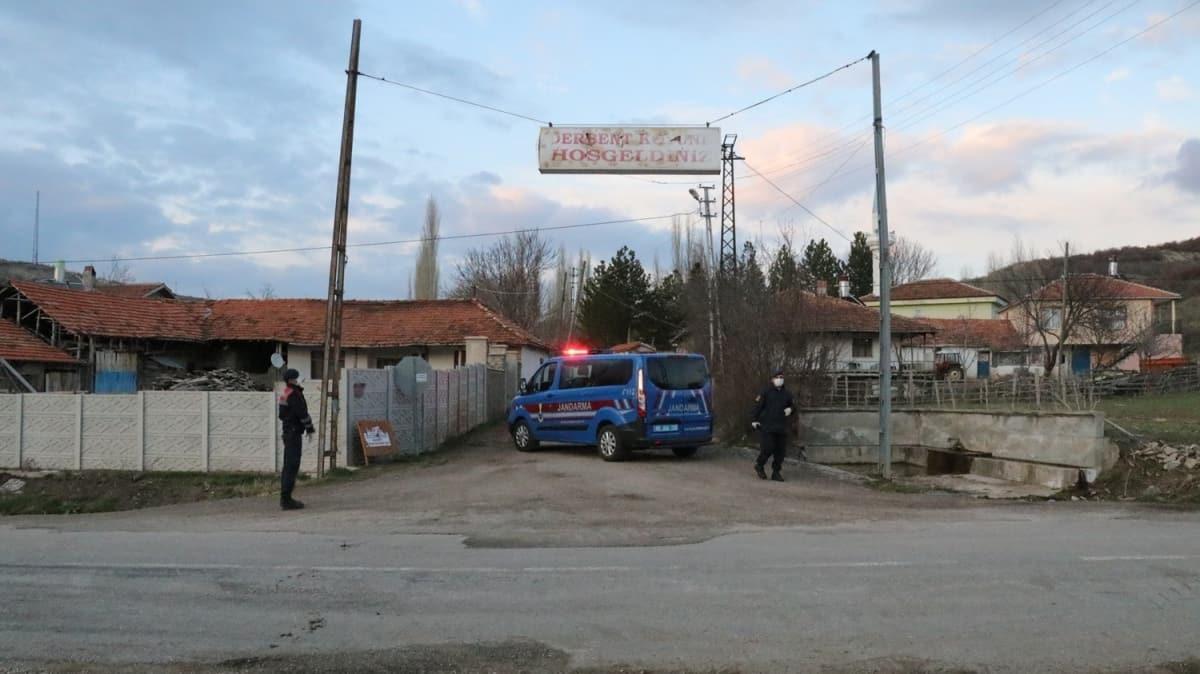 Yozgat'ın Derbent köyünde karantina kararı
