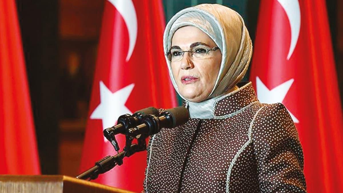 Emine Erdoğan: Koruma kollama sırası şimdi bizde