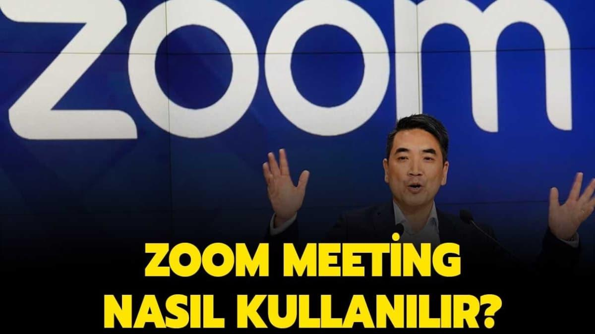 Zoom Cloud Meeting nedir""