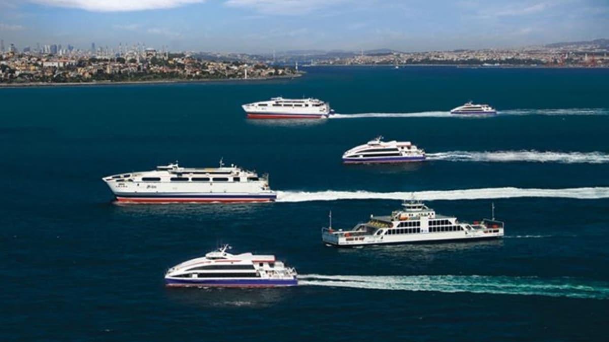 İstanbul'da koronavirüs tedbirleri kapsamında şehirlerarası feribot seferleri durduruldu
