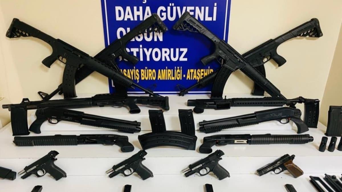 Ataşehir'de telefondan silah siparişi alan 'İbo' lakaplı şüpheli yakalandı