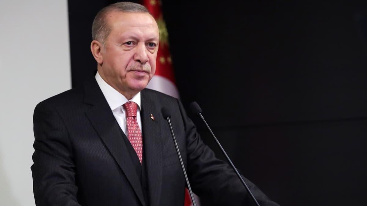 Başkan Erdoğan'dan 'Milli Dayanışma Kampanyası' paylaşımı