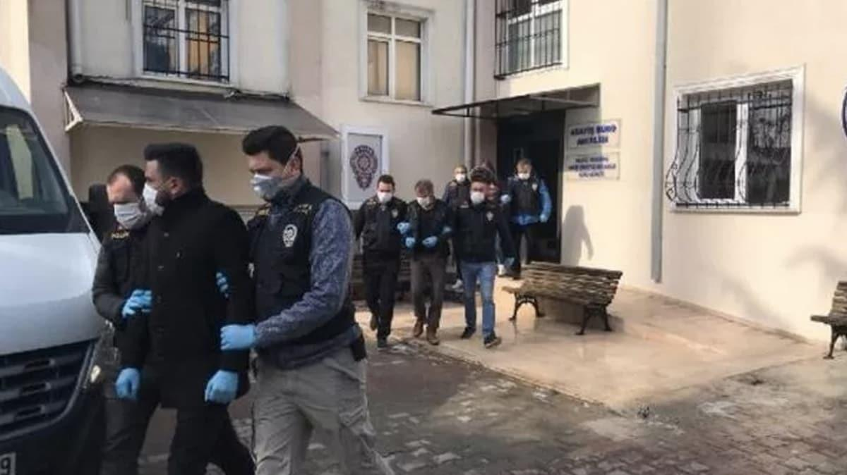 Büyükçekmece'deki bir evde 'koronavirüs' partisi veren şüphelilerden 4'ü adliyeye sevk edildi