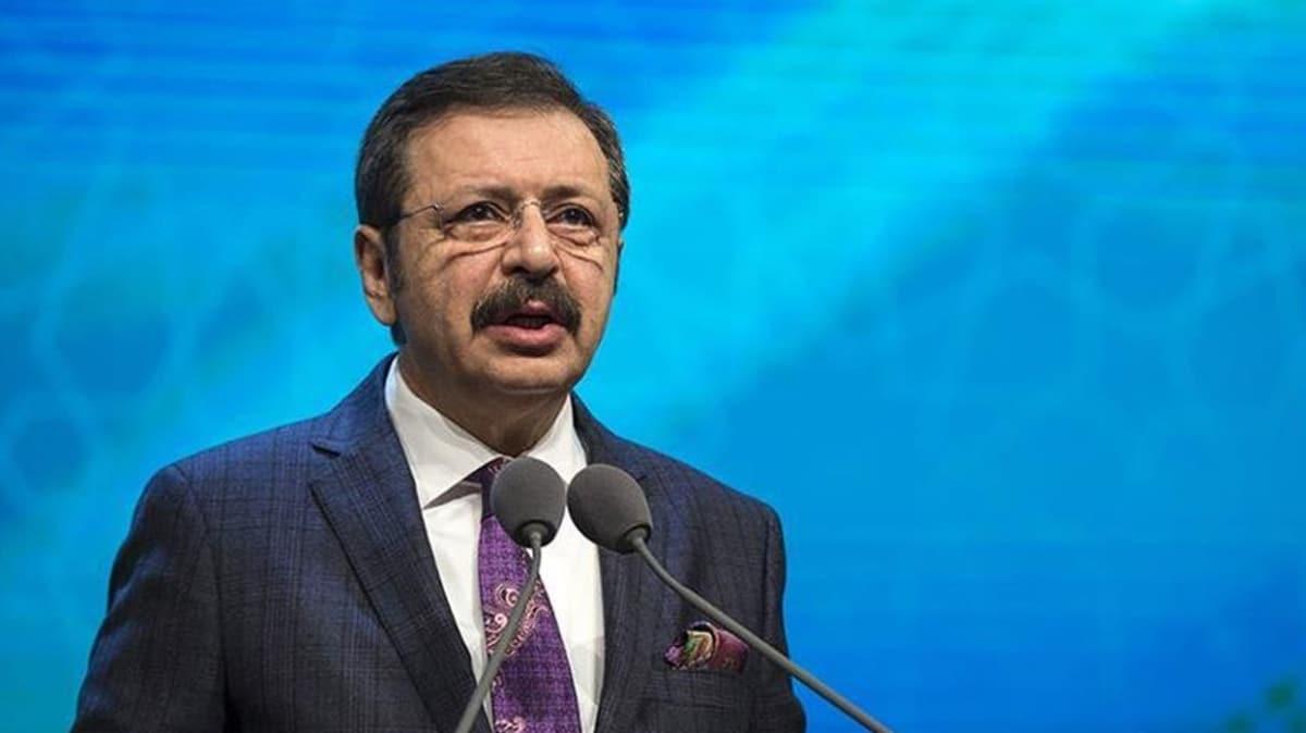 TOBB Başkanı duyurdu: 'Biz Bize Yeteriz Türkiye'm' kampanyasına TOBB olarak 10 milyon lira destek vereceğiz