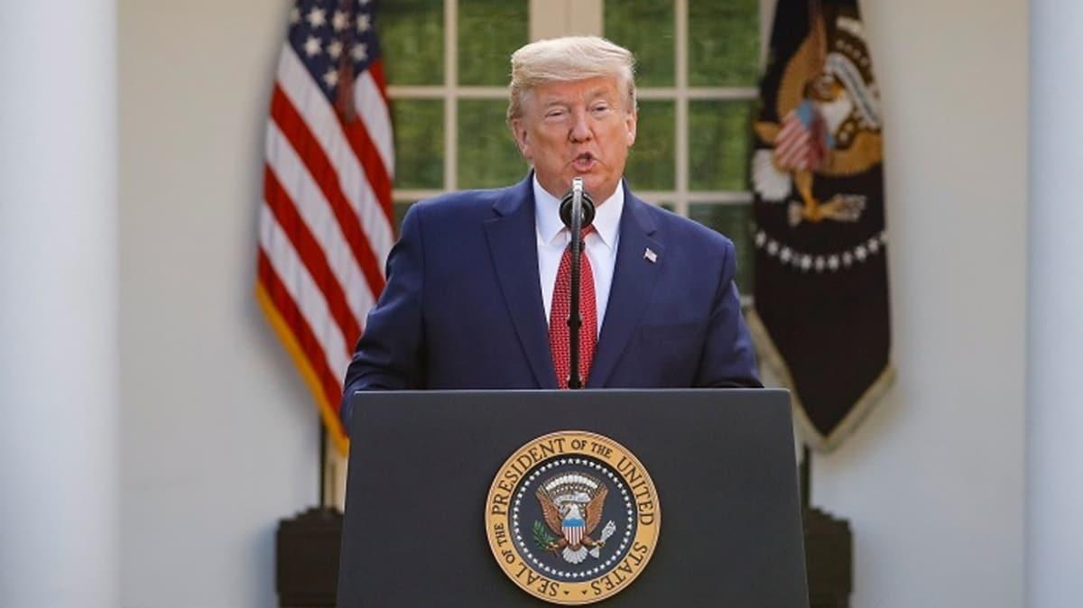 Trump: 2 haftaya kadar koronavirüs kaynaklı ölüm oranlarının en yüksek seviyeye çıkmasını bekliyoruz