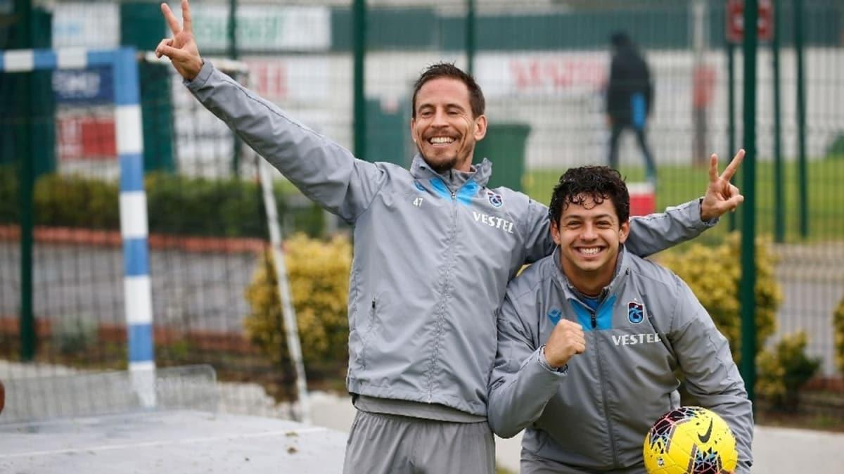 8 yıl sonra Trabzonspor'da buluştular