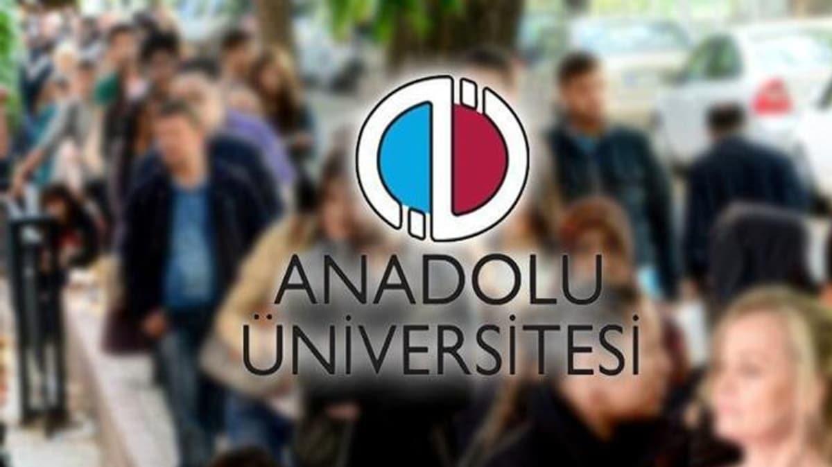 Anadolu Üniversitesi'nden sınavlara ilişkin açıklama!