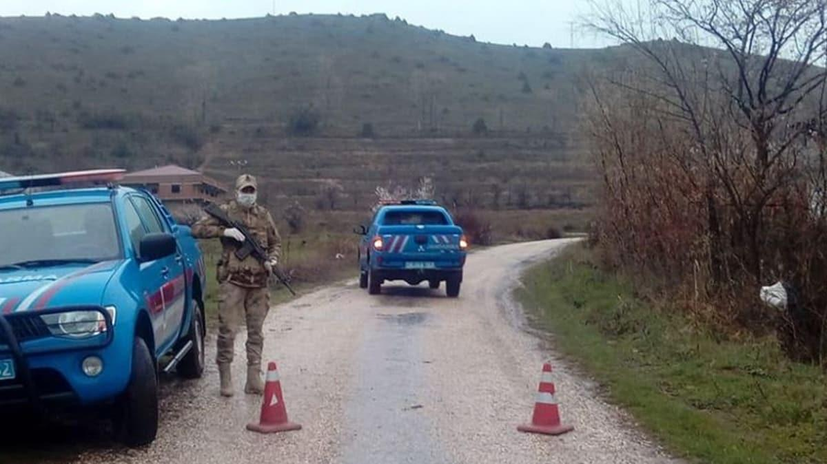 Bitlis'te bir köy karantinada