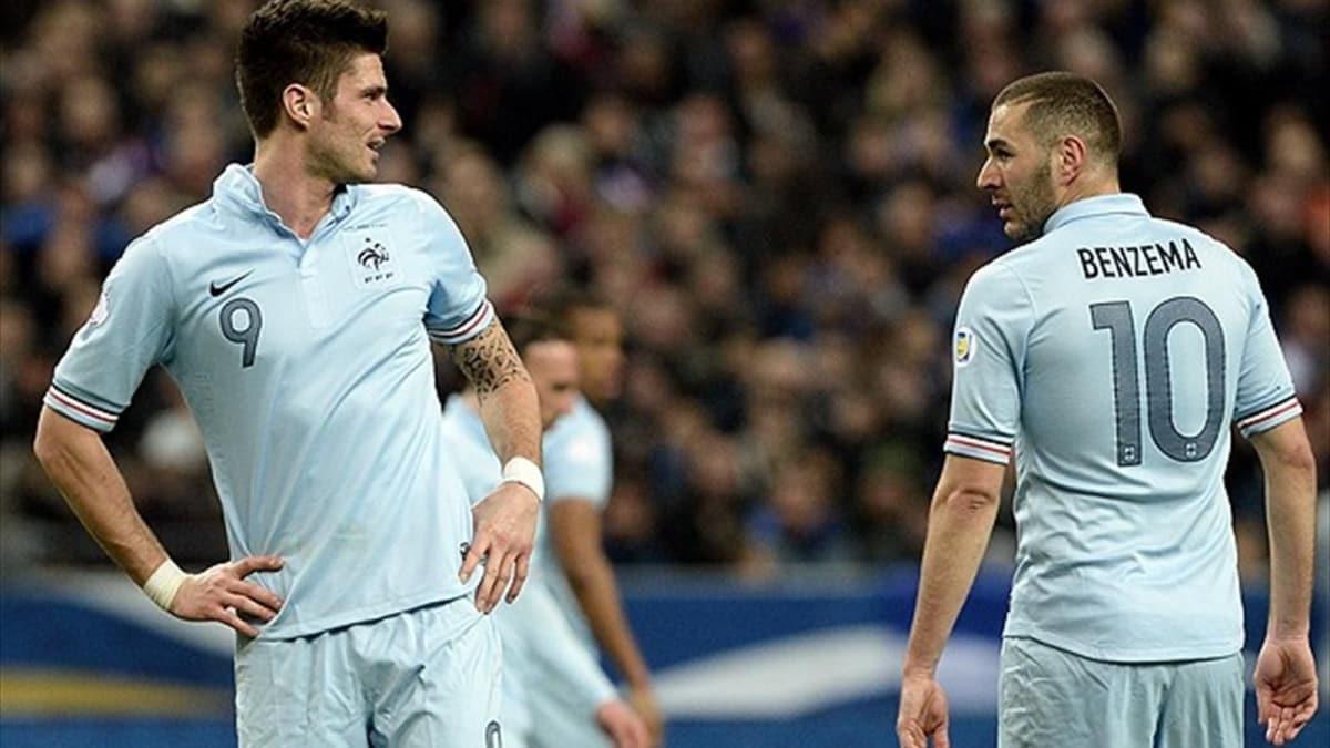 Benzema, Giroud karşılaştırmalarına tepki gösterdi