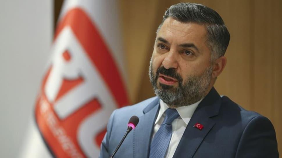 RTÜK Başkanı Şahin'den koronavirüs yayını açıklaması