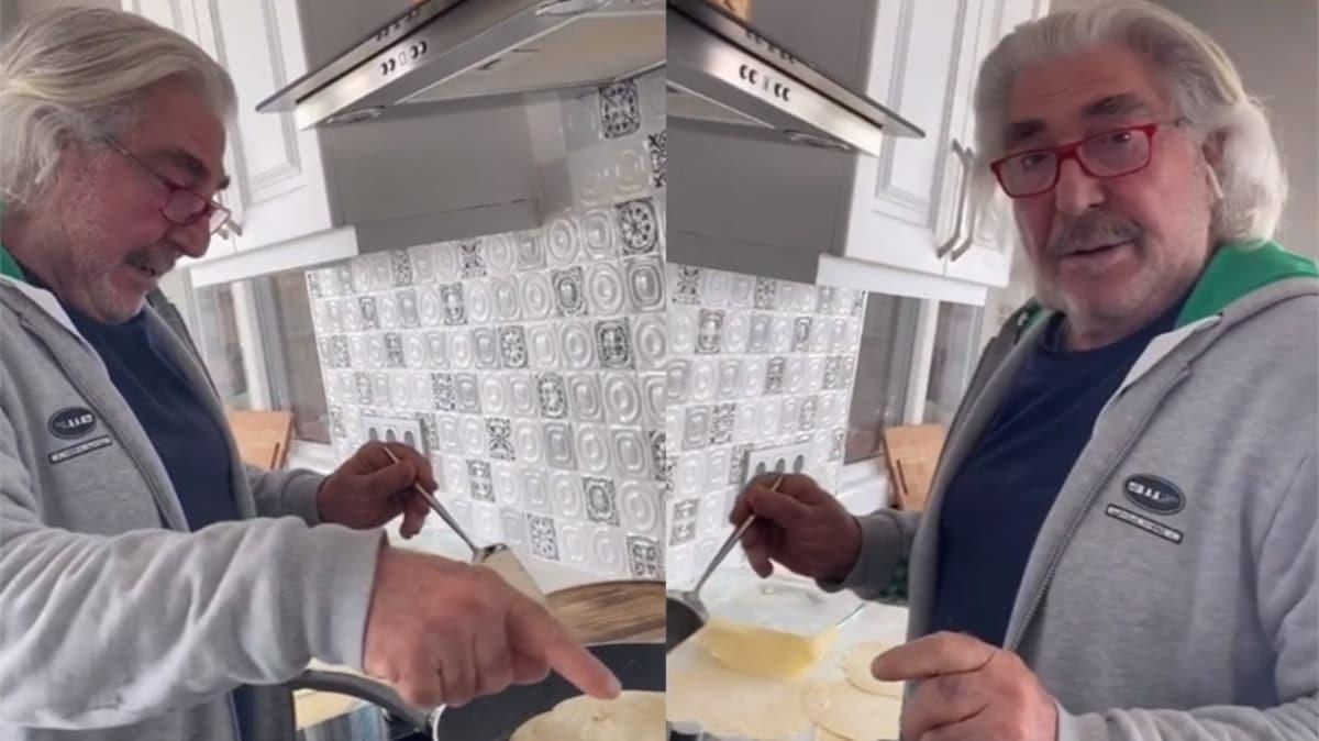 Erdal Özyağcılar mutfağa girdi