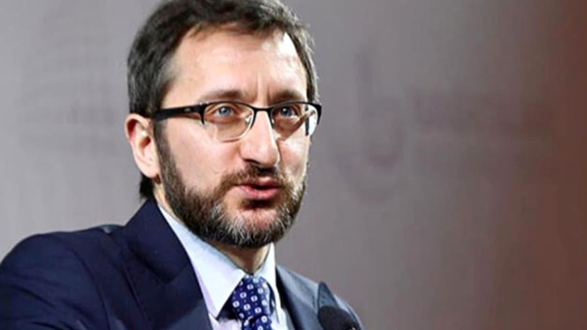 İletişim Başkanı Fahrettin Altun: Sosyal medya provokasyonu örgütlerin işi