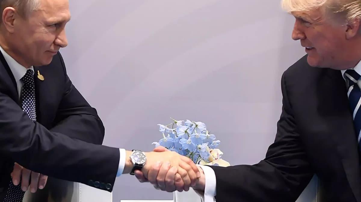 Rusya'dan koronavirüs iddiası: Putin teklif etti, Trump kabul etti
