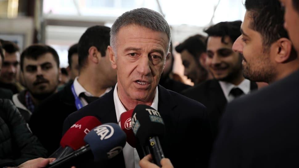 Trabzonspor Başkanı Ahmet Ağaoğlu'ndan Sosa ve Novak müjdesi