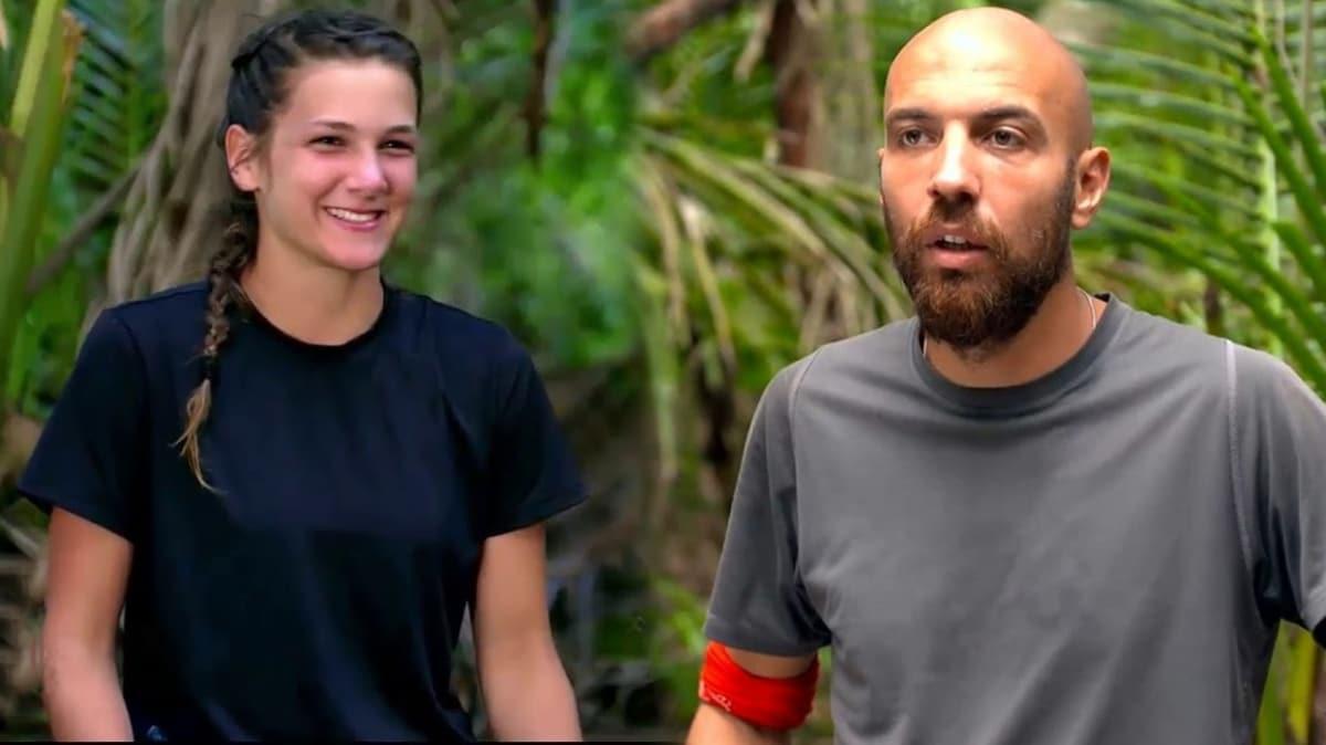 """Survivor'da aşk bombası patladı! Sercan Nisa'dan mı hoşlanıyor"""""""