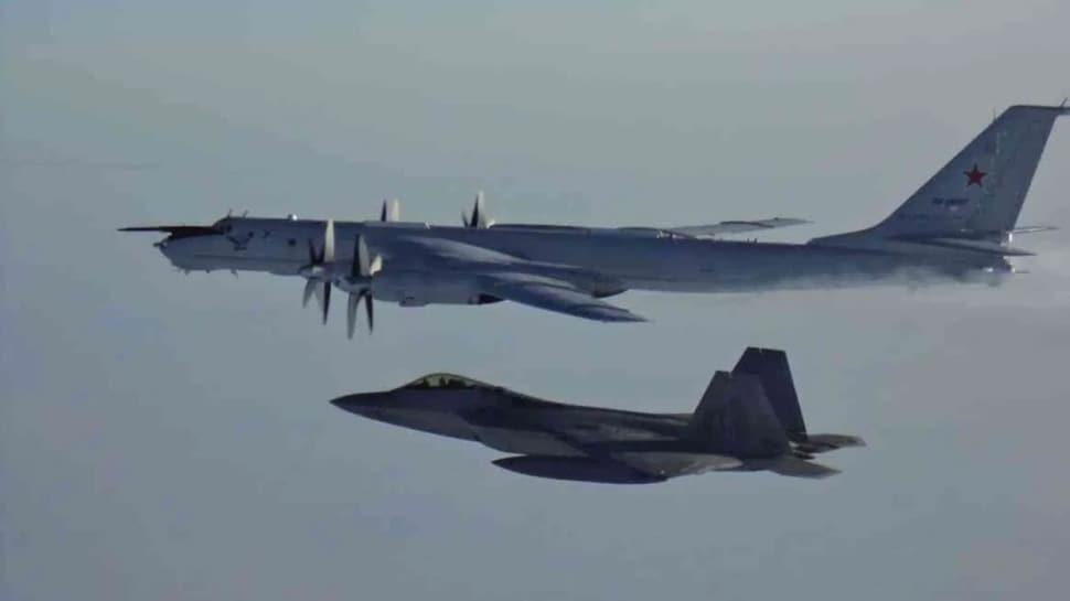Havada gergin anlar! ABD savaş uçağı Rus uçağına önleme yaptı