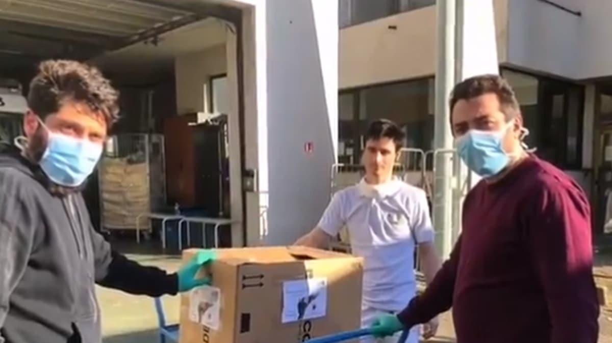 DİTİB'ten örnek davranış... Fransa'da ihtiyaç sahiplerine yardım eli