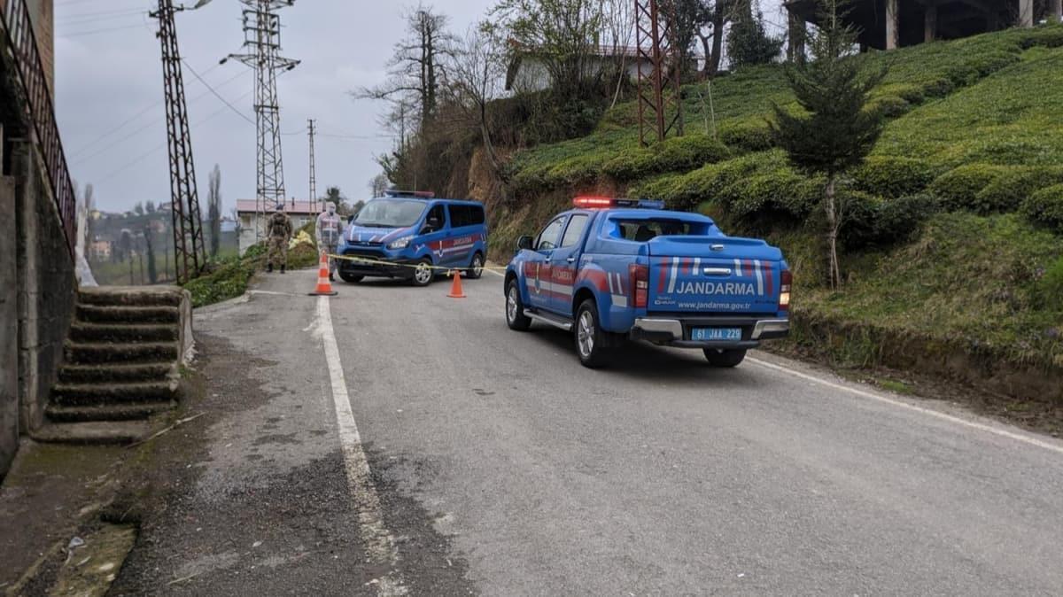 Trabzon'da iki mahalleye koronavirüs karantinası