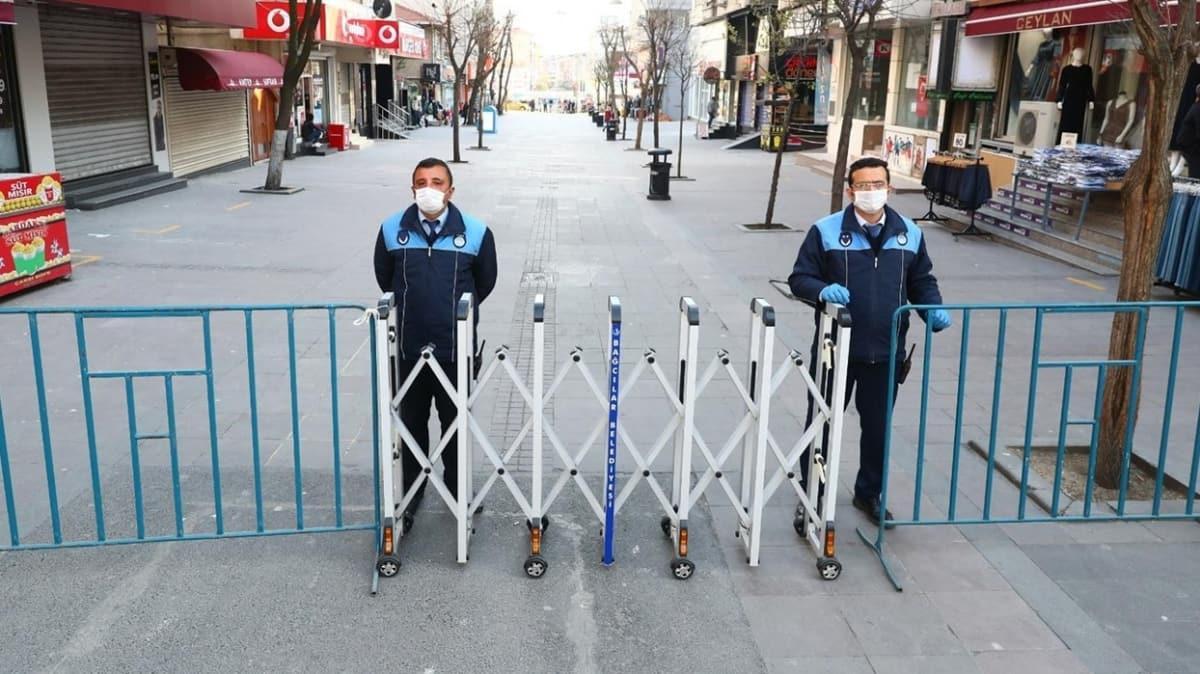 İstanbul'da 2 meydan ve en işlek 6 cadde yaya trafiğine kapatıldı