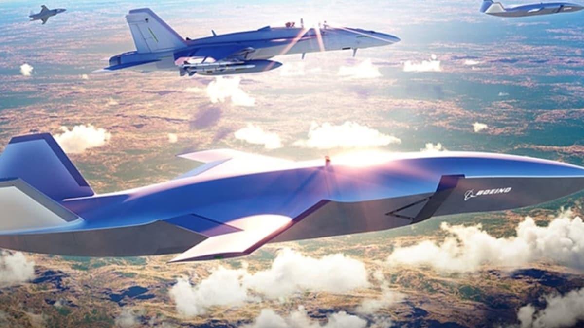 İnsansız savaş uçağında kilometre taşına erişildi
