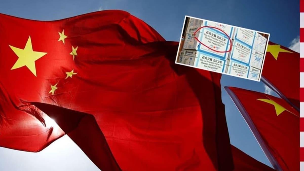 Dışişleri, Çin'den 'Ermenistan'a gönderdiği kolilerdeki Ağrı Dağı atfı'na izahat istedi