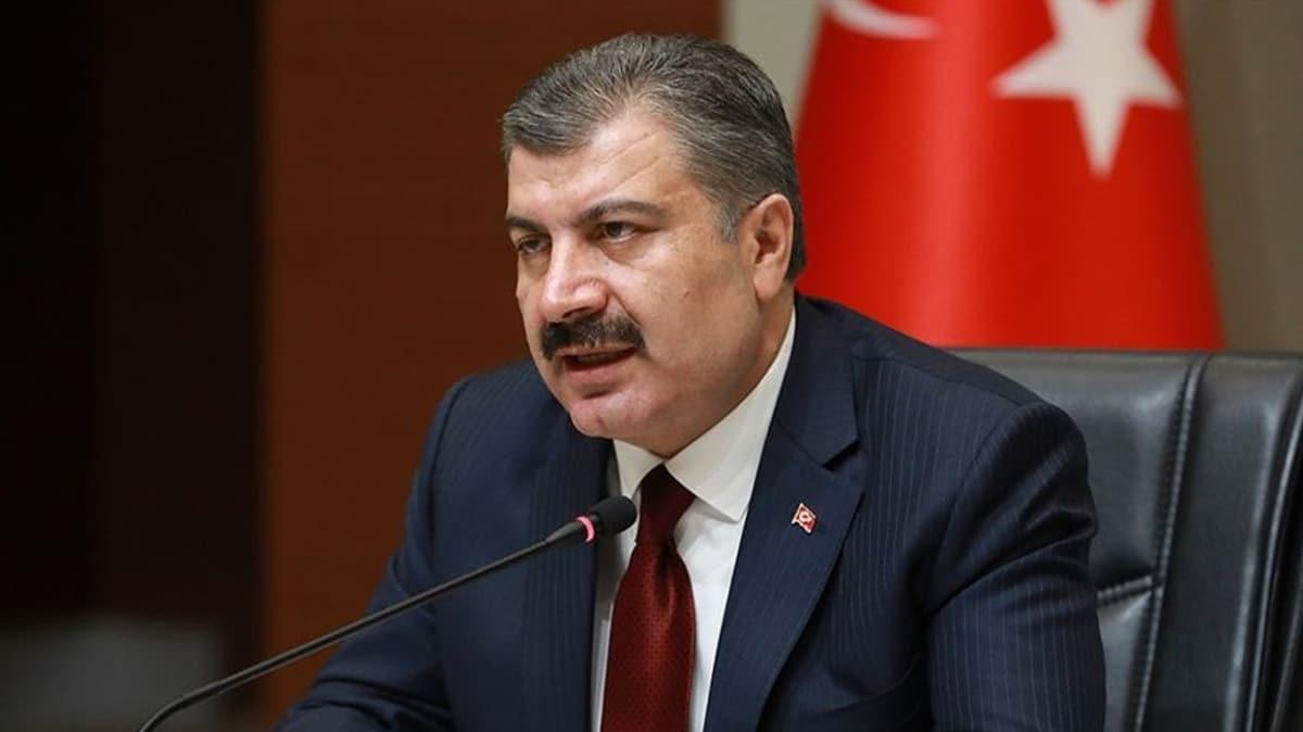 Bakanı Koca: Türkiye ölçeğinde yoğun bakım toplam hasta sayımız ilk kez azaldı