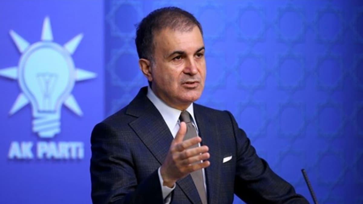 AK Sözcüsü Çelik'ten 'Sahra Hastanesi' tepkisi