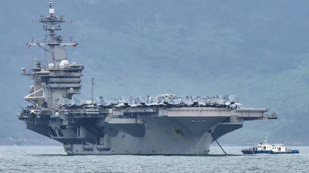 ABD'de krize neden olmuştu... O gemide ilk ölüm gerçekleşti!