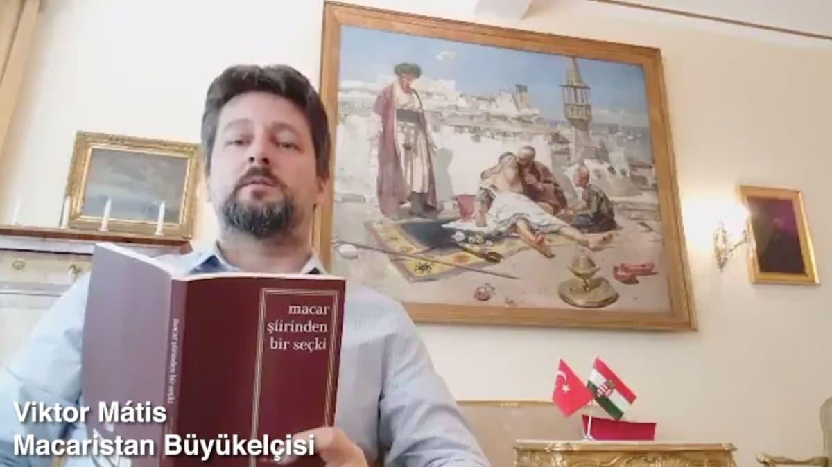 Macar Kültür Merkezi'nden Ulusal Şiir Gününe Türkçe şiir etkinliği