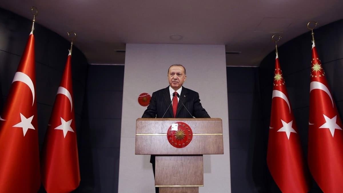 Başkan Erdoğan:  Türkiye ilhamını medeniyetinden alan bir vakar devletidir