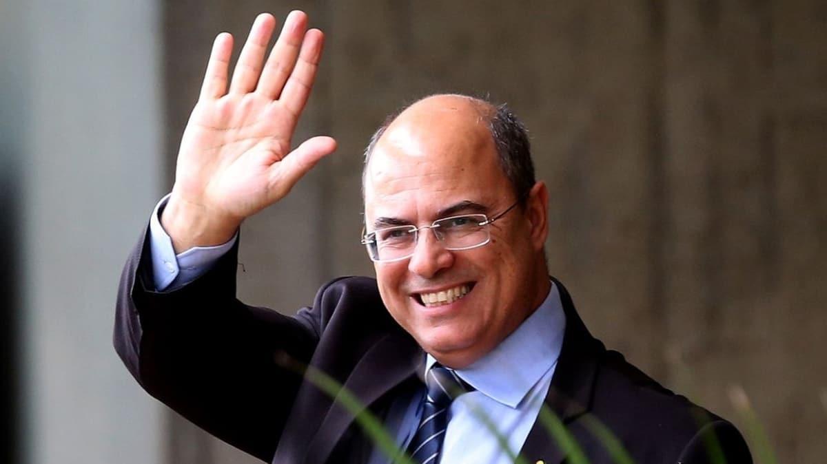 Rio de Janeiro valisi koronavirüse yakalandı