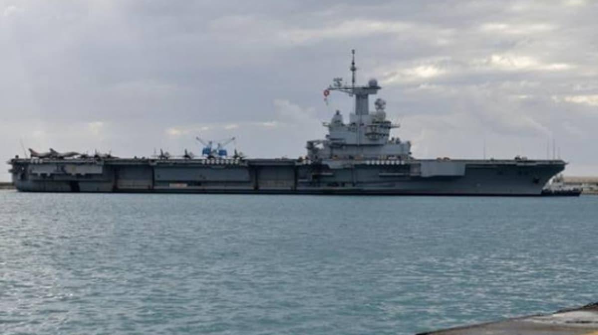 Fransız uçak gemisi mürettebatının neredeyse yarısında koronavirüs tespit edildi