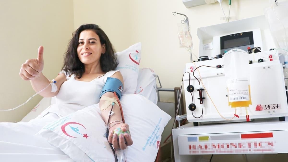 Plazma bağışıyla hayat kurtarıyorlar