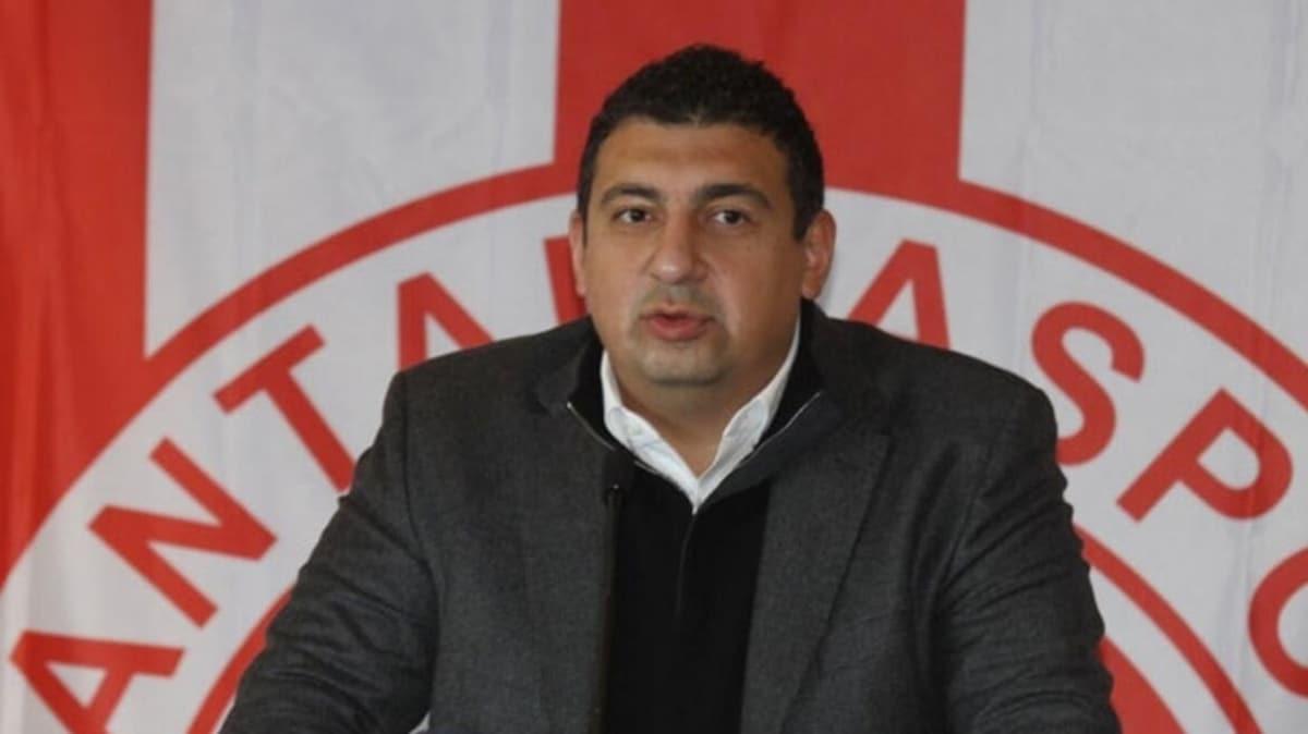 Anyalyaspor Başkanı Öztürk'den öneri
