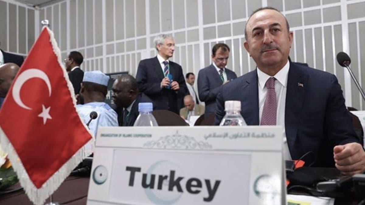 Türkiye'nin çağrıları sonrası İslam İşbirliği Teşkilatı Olağanüstü İcra Komitesi yarın toplanıyor