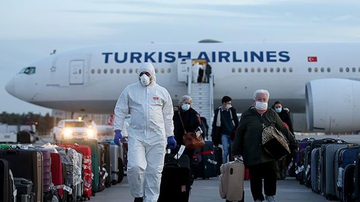 76 ülkeden 32 bin civarı Türk vatandaşı ülkeye getirildi