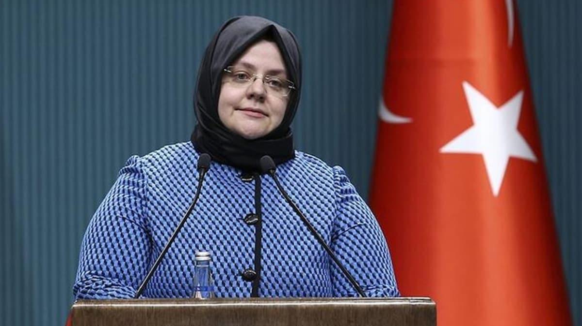 Bakan Selçuk'tan Nakdi Ücret Desteği uygulaması açıklaması