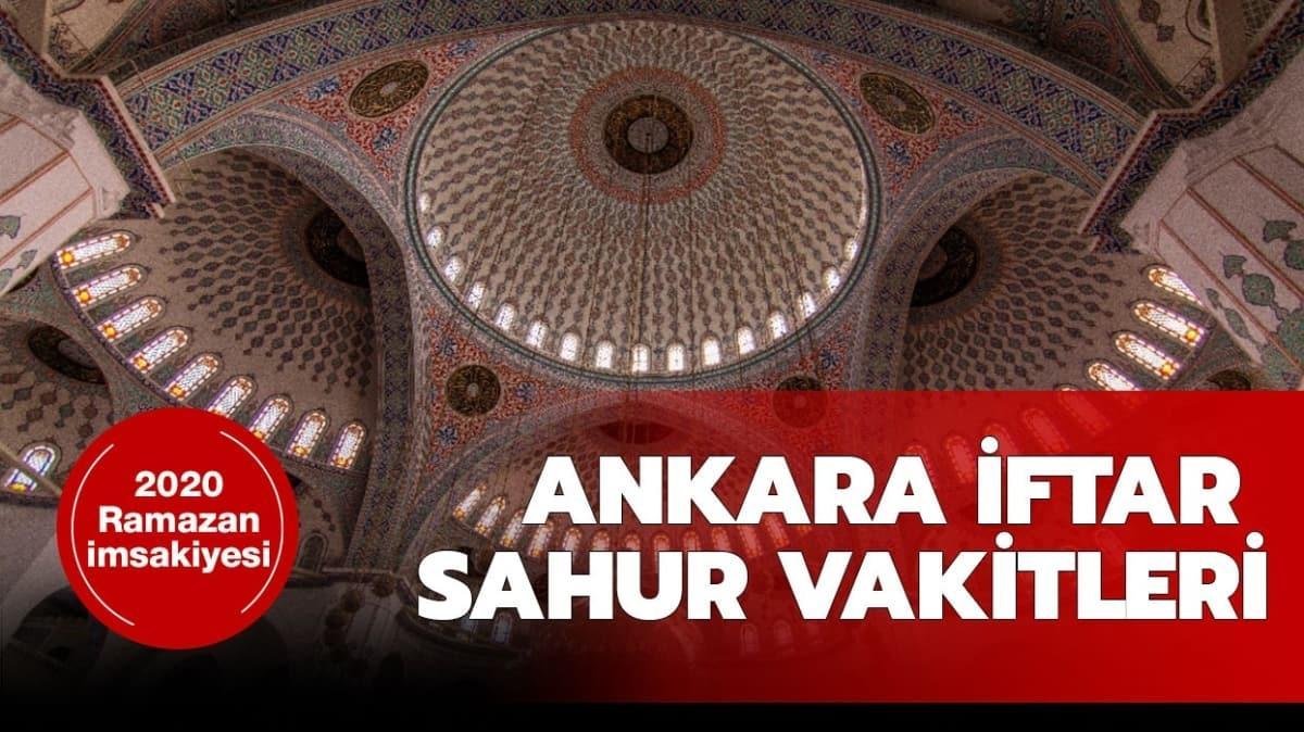 """Ankara imsak vakti nedir"""""""