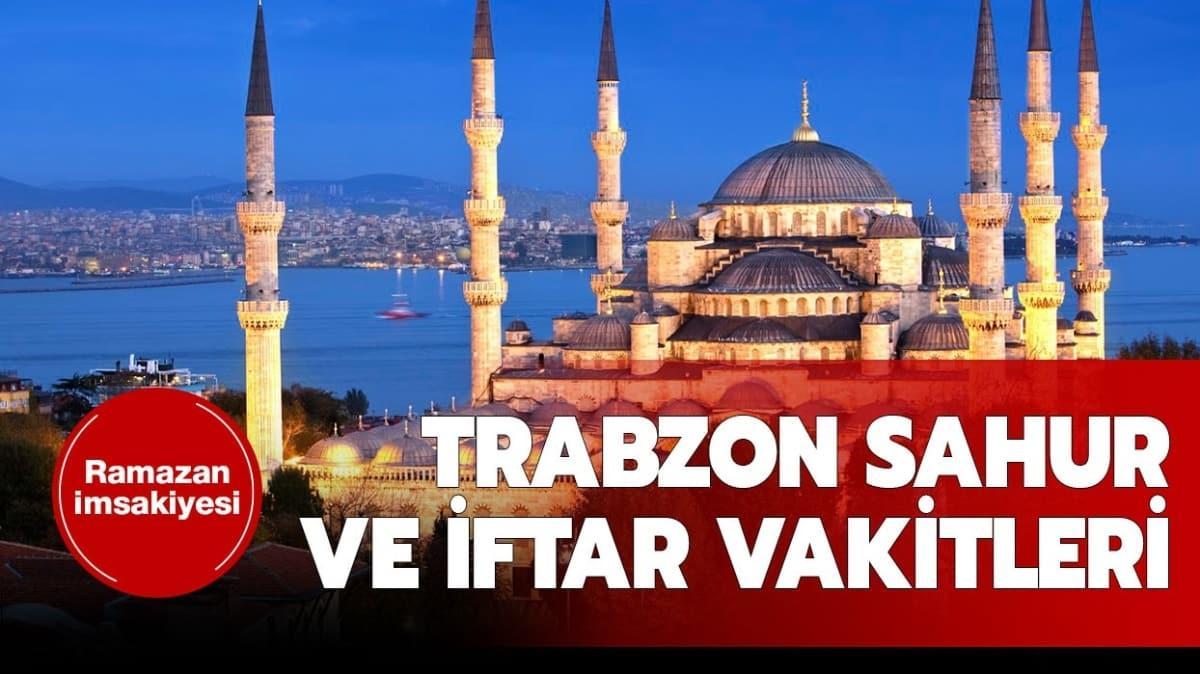 """2020 Trabzon sahur ve iftar vakitleri Diyanet imsakiyesi yayında! Trabzon iftar ve sahur saati kaçta"""""""