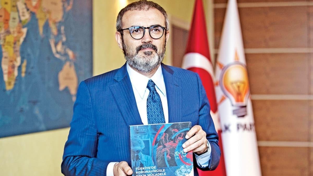 AK Parti'den koronavirüs ile mücadele kitabı