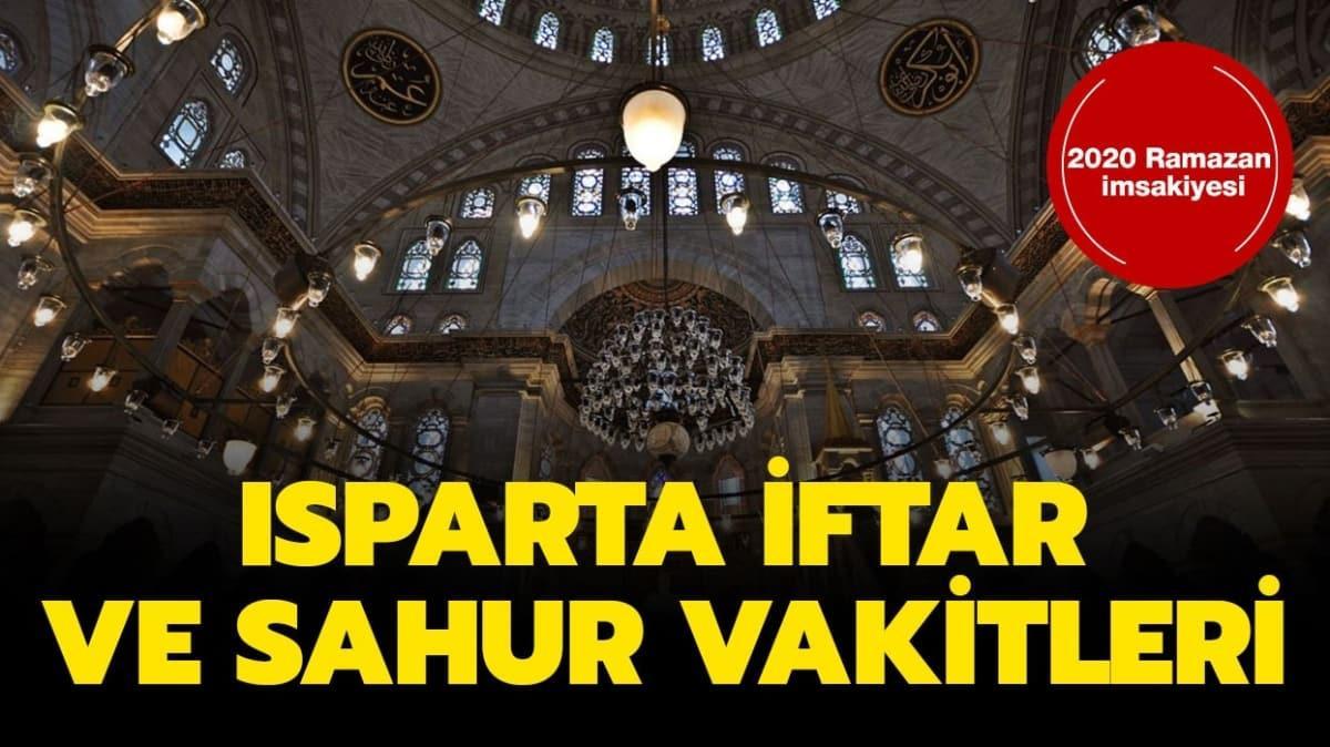 """Isparta iftar vakti saat kaçta"""""""