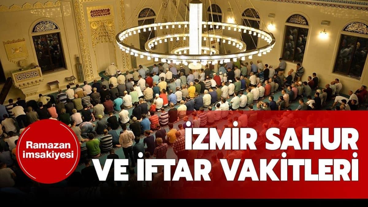 İzmir iftar sahur vakti ezan saatleri 2020!