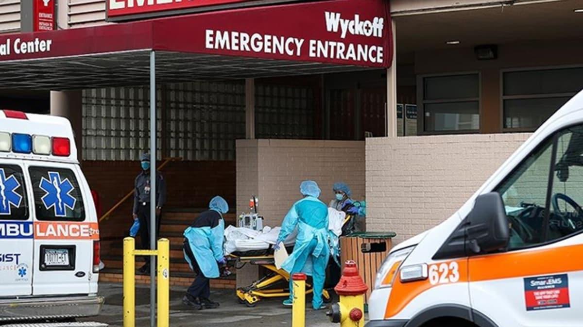 ABD'de koronavirüs nedeniyle ölenlerin sayısı 46 bin 785'e yükseldi