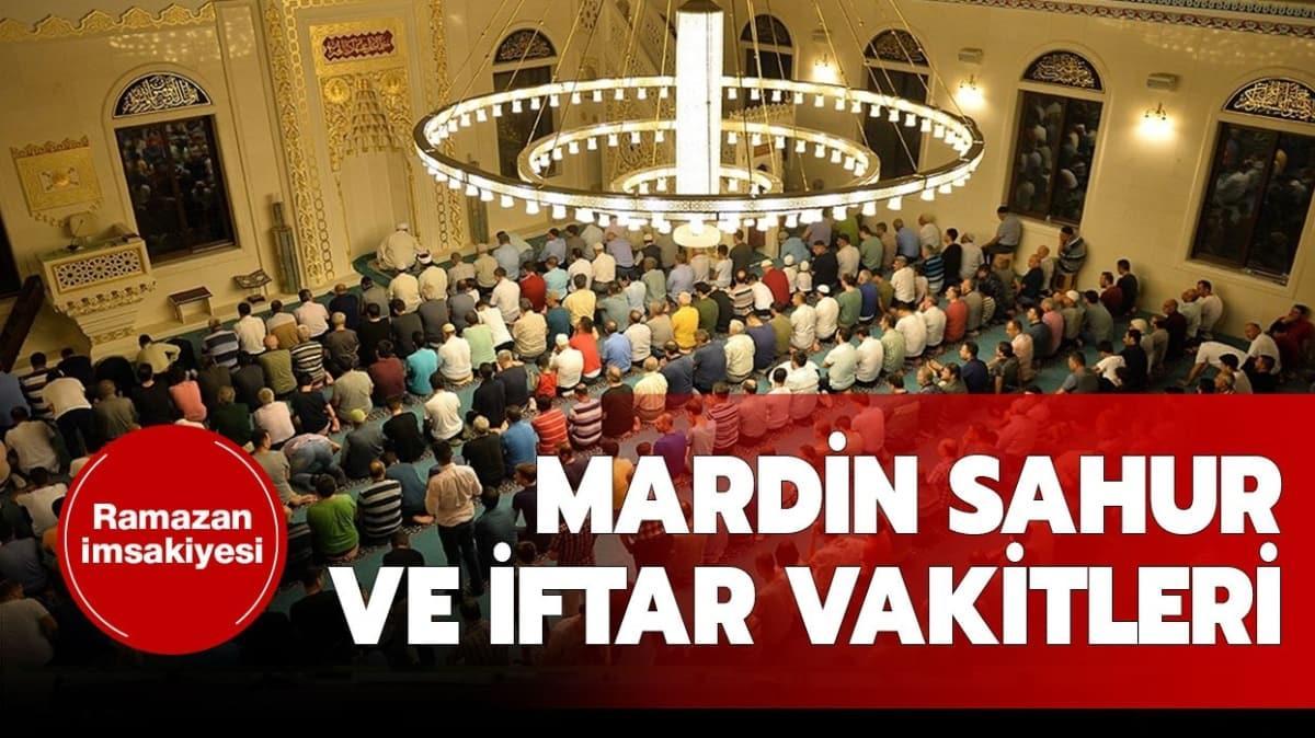 """Mardin sahur, iftar ve imsak saatleri 2020 kaç"""""""