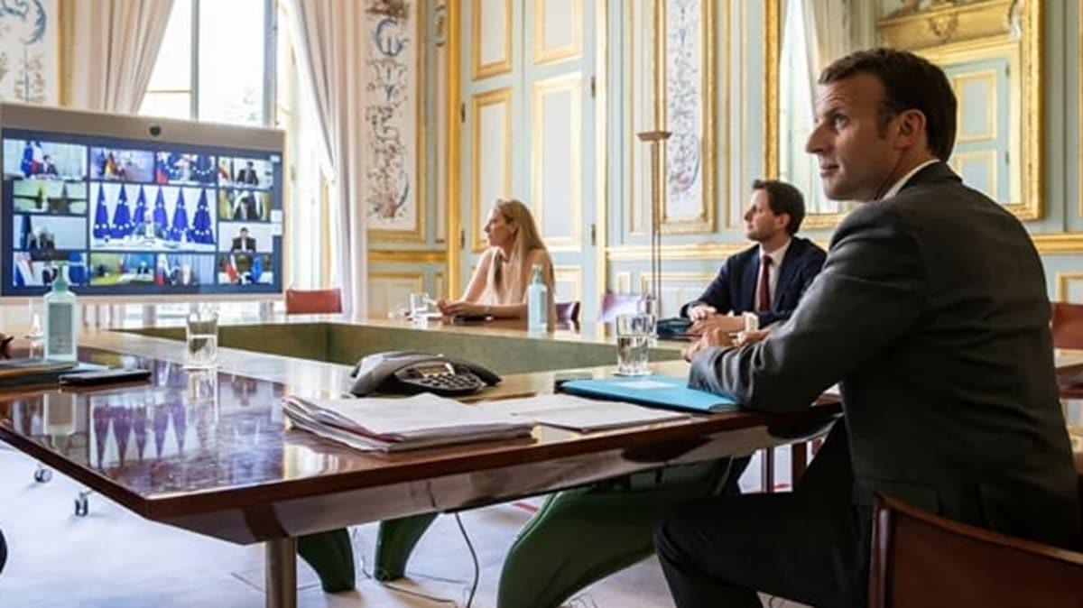 Macron: Avrupa'nın bir parçasını terk edersek tüm Avrupa çöker